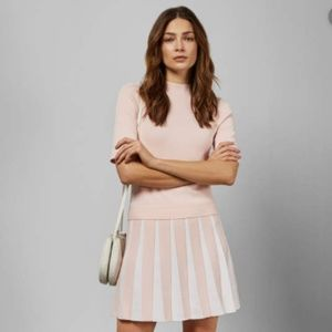 Ted Baker Hethia Knit Layered-Look Dress